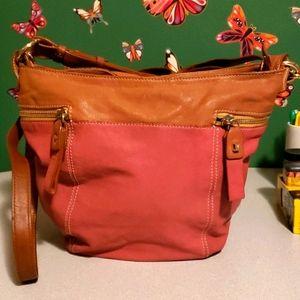 Luana leather bag